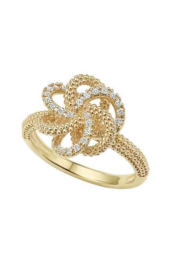 Women's Lagos 'Love Knot' Diamond Ring