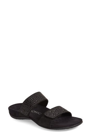 Women's Vionic 'Samoa' Sandal, Size 5 M - Black