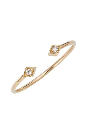 Zoe Chicco Open Diamond Ring