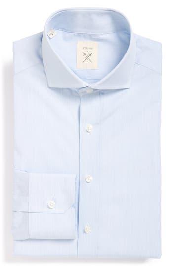 Men's Strong Suit 'Elan' Trim Fit Stripe Dress Shirt