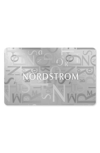 Nordstrom Classic Gift Card $25