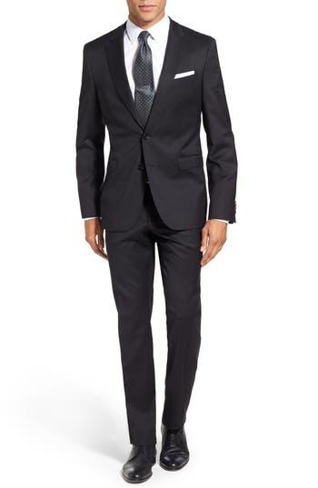 Men's Boss 'Ryan/win' Extra Trim Fit Solid Wool Suit