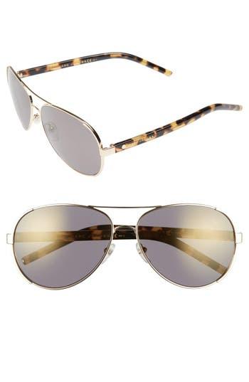 Women's Marc Jacobs 60Mm Oversize Aviator Sunglasses -