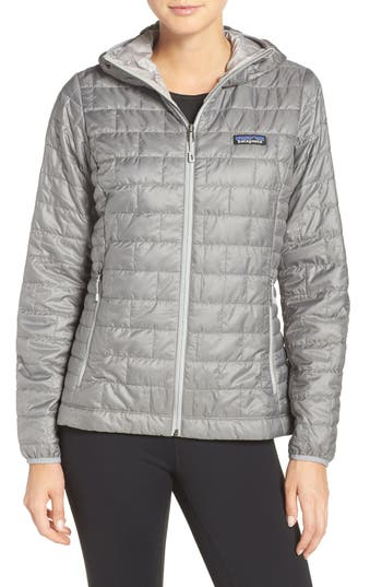 Women's Patagonia Nano Puff Hooded Water Resistant Jacket
