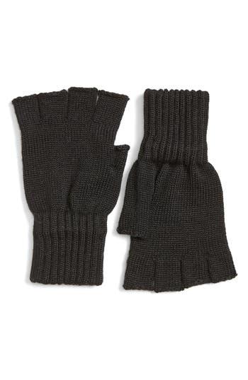 Barbour Fingerless Wool Gloves