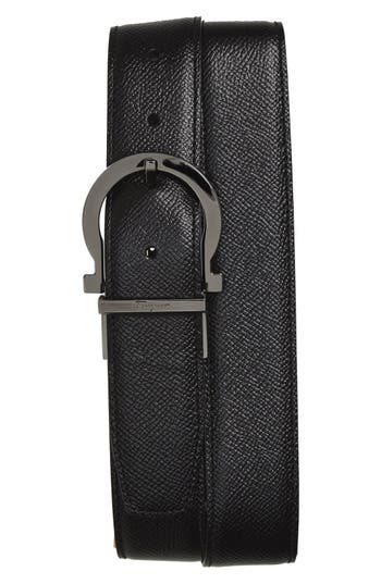 Men's Big & Tall Salvatore Ferragamo Reversible Leather Belt