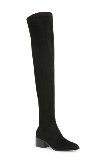 Steve Madden Gabriana Stretch Over The Knee Boot, Black