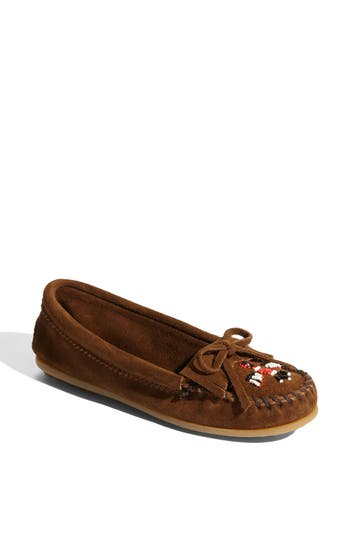 Women's Minnetonka 'Thunderbird Ii' Moccasin, Size 5.5 M - Brown