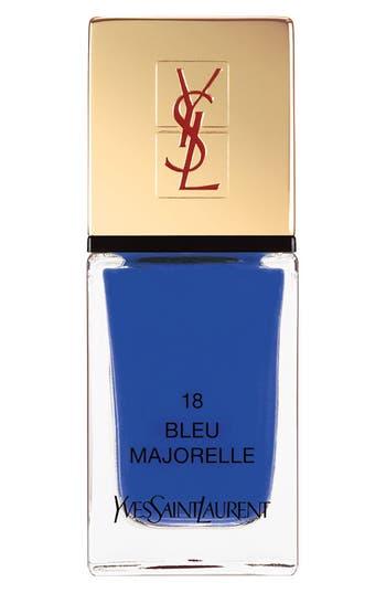 Yves Saint Laurent 'La Laque Couture' Nail Lacquer - 18 Bleu Majorelle