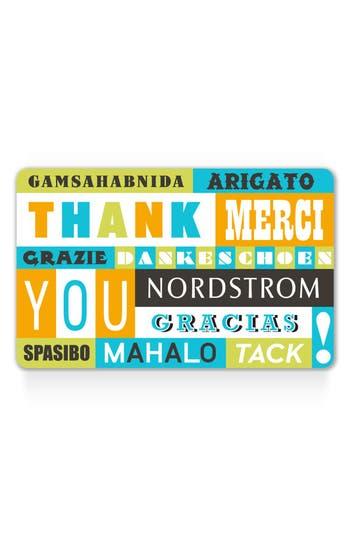 Nordstrom World Of Thanks Gift Card