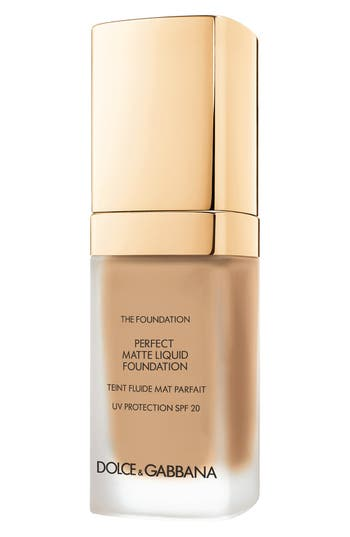 Dolce&gabbana Beauty Perfect Matte Liquid Foundation - Golden Honey 170