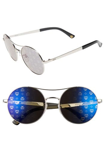 Women's Mcm 54Mm Round Logo Sunglasses -