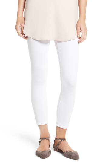 Lysse Toothpick High Rise Crop Denim Leggings