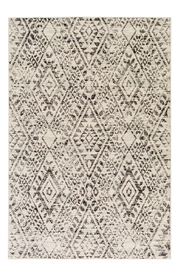 Surya Home Stretto Global Geo Rug, Size 1ft 9in x 2ft 10in - Beige