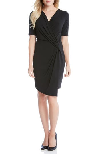 Women's Karen Kane Faux Wrap Dress
