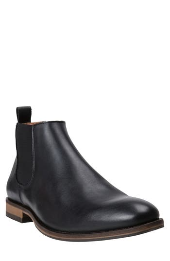 Mens Vintage Style Shoes| Retro Classic Shoes Mens Rodd  Gunn St. Stephens Chelsea Boot Size 44 EU - Black $228.00 AT vintagedancer.com
