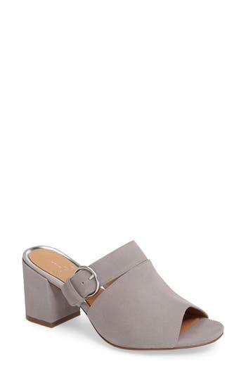 Women's Linea Paolo Isla Block Heel Mule, Size 9 M - Grey