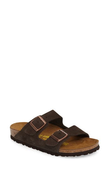 Women's Birkenstock 'Arizona' Sandal, Size 10-10.5US / 41EU B - Brown