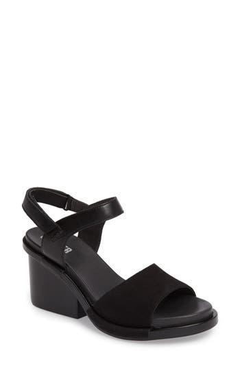 Camper Ivy Ankle Strap Sandal, Black
