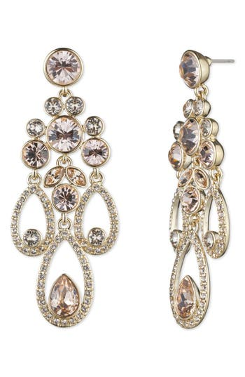 Women's Givenchy Drama Chandelier Crystal Earrings