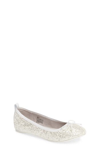 Toddler Girl's Reaction Kenneth Cole Copy Tap Ballet Flat
