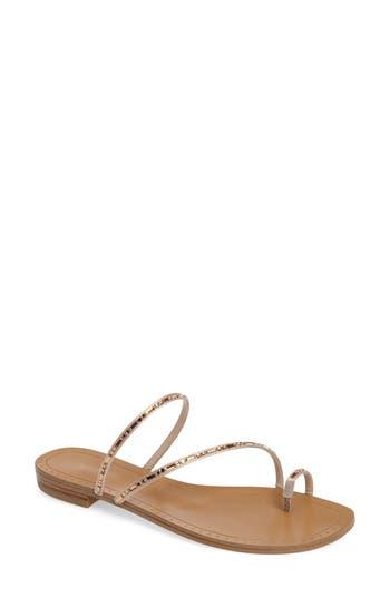 Pelle Moda Bohem Embellished Sandal