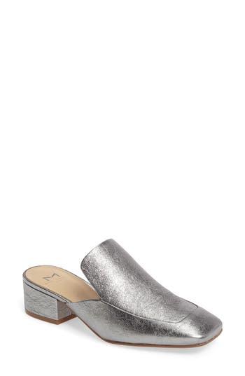 Women's Marc Fisher Ltd Lailey Block Heel Mule, Size 8 M - Grey