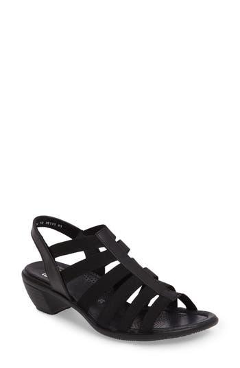 Women's Ara Peony Cage Sandal, Size 6.5 M - Black
