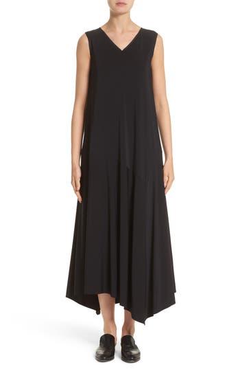 Women's Lafayette 148 New York Cultivated Crepe Jersey Asymmetrical Dress
