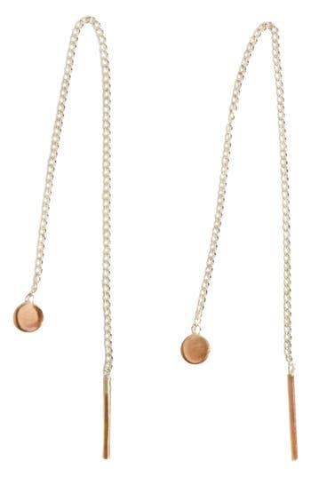 Women's Melissa Joy Manning Chain Threader Earrings