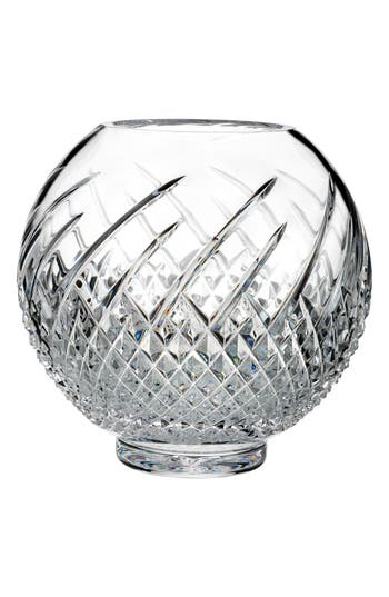Waterford Wild Atlantic Way Lead Crystal Rose Bowl, Size One Size - White