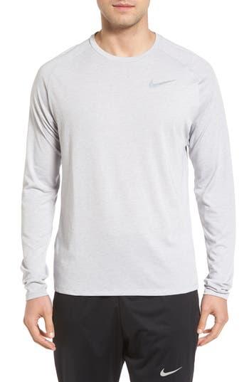 Men's Nike Tailwind Long Sleeve Running T-Shirt