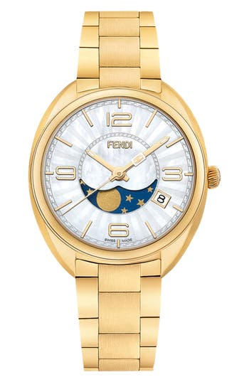 Women's Fendi Momento Bracelet Watch, 34Mm
