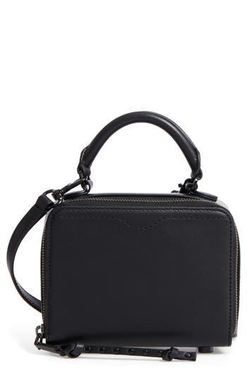 Rebecca Minkoff Box Leather Crossbody Bag -