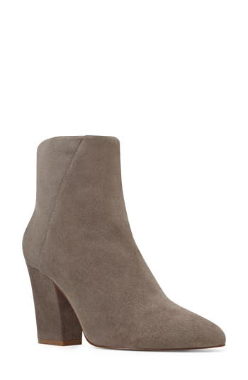 Nine West Savitra Pointy Toe Bootie- Grey