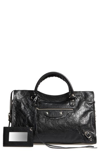 Balenciaga Classic City Leather Tote - Black