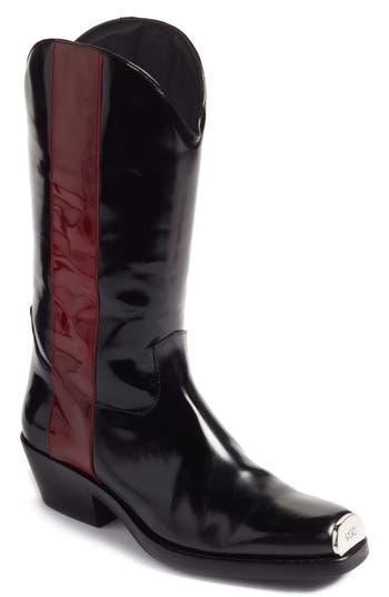 Calvin Klein 205W39Nyc Ellie Western Boot, Black
