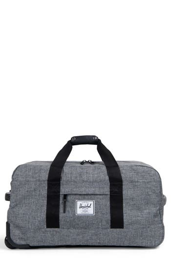 Herschel Supply Co. Wheelie Outfitter 24-Inch Duffel Bag - Grey