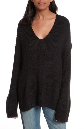 Women's Rebecca Minkoff Remi Oversize Sweater, Size XX-Small - Black
