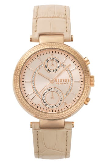 Women's Versus By Versace Star Ferry Chronograph Bracelet Watch, 38Mm