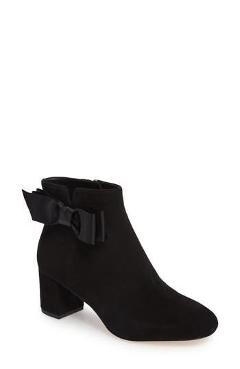 Kate Spade New York Langley Bow Bootie- Black
