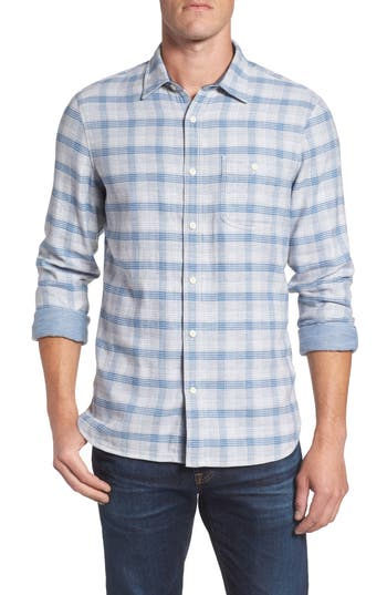 Mens Contrast Collar Shirt | Nordstrom