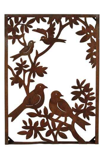 Foreside Birds Metal Wall Art