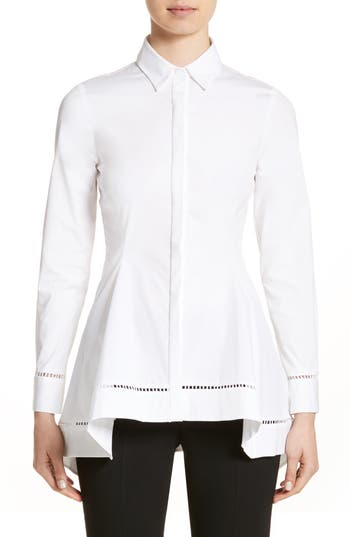 Women's Lela Rose Peplum Shirt