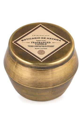 Archipelago Botanicals Botanico De Havana Scented Tin Candle, Size One Size - Metallic