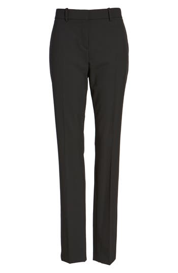 Women's Theory 'Super Slim Edition' Stretch Wool Pants