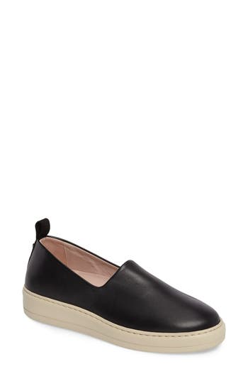Taryn Rose Chiara Slip-On Sneaker, Black