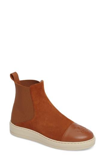 Taryn Rose Cecilia High Top Sneaker, Brown