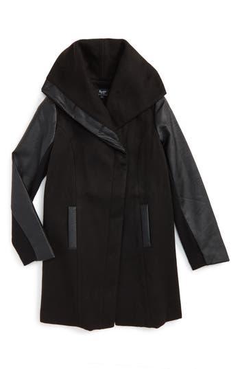 Girl's Bardot Junior Raven Hooded Coat