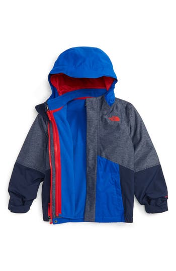 Boy's The North Face Boundary Triclimate 3-In-1 Jacket